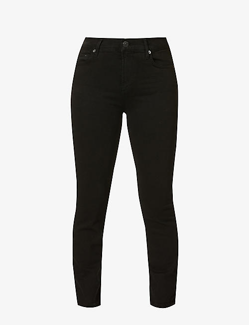 CITIZENS OF HUMANITY: Rocket skinny cropped high-rise jeans