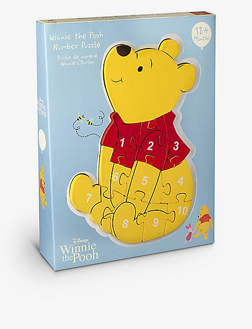 ORANGE TREE TOYS: Winnie the Pooh number puzzle 33.5cm