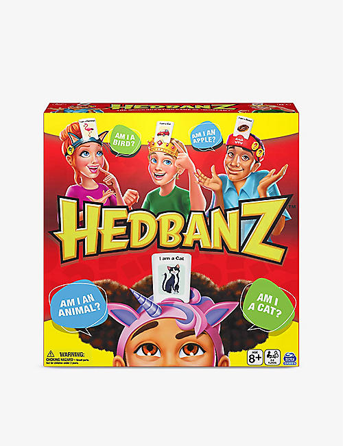 BOARD GAMES: Hedbanz board game