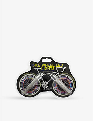 PALADONE: LED plastic-free bike wheel lights