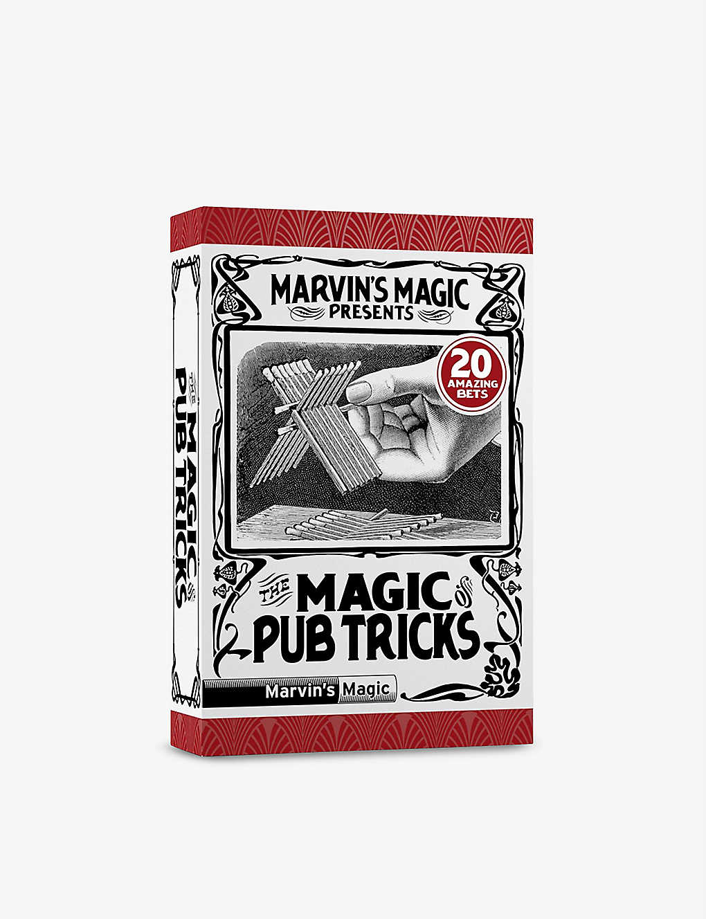 MARVINS MAGIC: The Magic Of Pub Tricks set