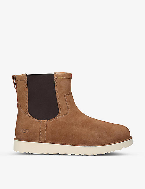 UGG: Campout Chelsea suede boots