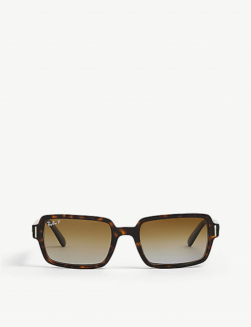RAY-BAN: RB2189 rectangular-frame sunglasses
