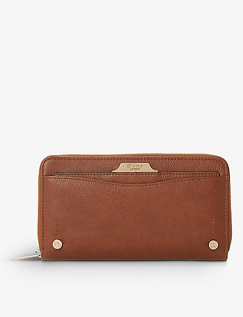 DUNE: Kartie zip-around purse with removable card slot