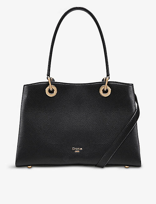 DUNE: Darys faux-leather tote bag