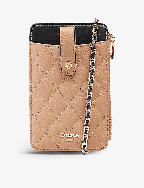 DUNE: Kimmy quilted phone holder purse