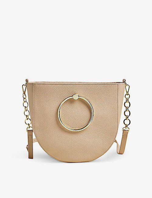 TED BAKER: Nitza leather cross-body bag