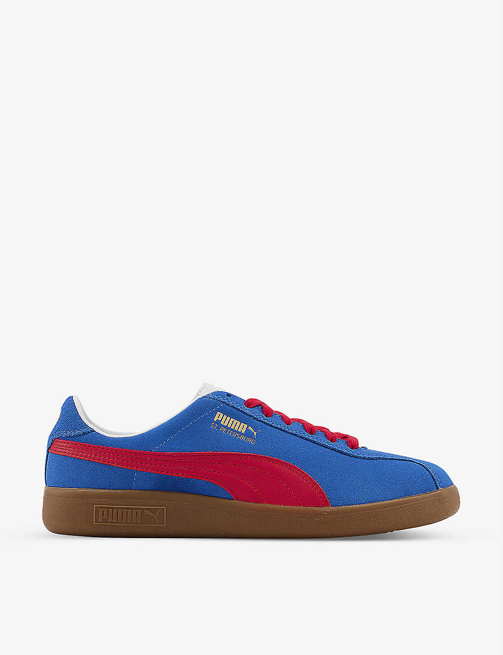PUMA: Bluebird St. Petersburg suede trainers