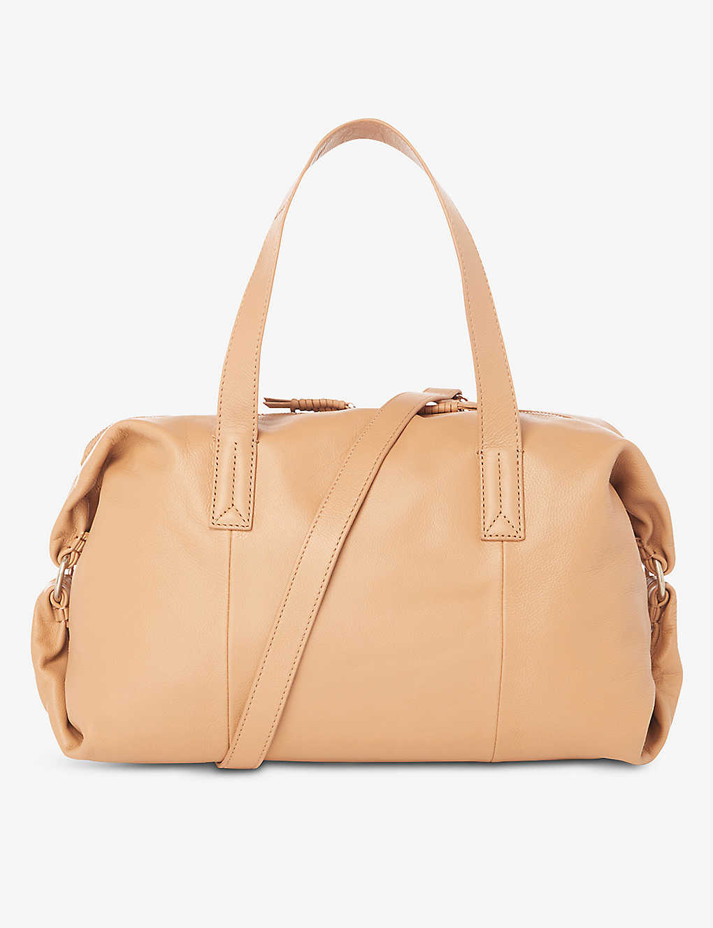 DUNE: Deightons leather holdall