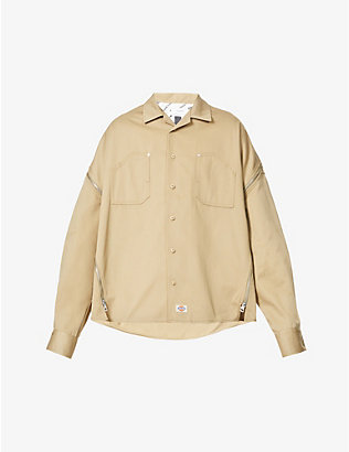 FACETASM: Facetasm x Dickies woven shirt
