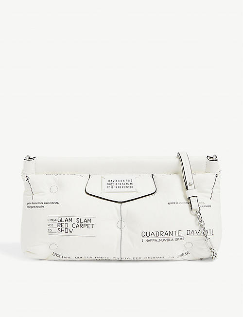 MAISON MARGIELA: Glam Slam Red Carpet leather shoulder bag