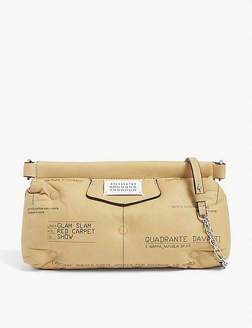 MAISON MARGIELA: Glam Slam Red Carpet leather bag