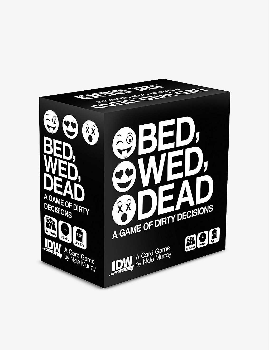 BOARD GAMES: Bed Wed Dead card game