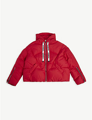 KHRISJOY: Padded shell puffer coat 8-14 years