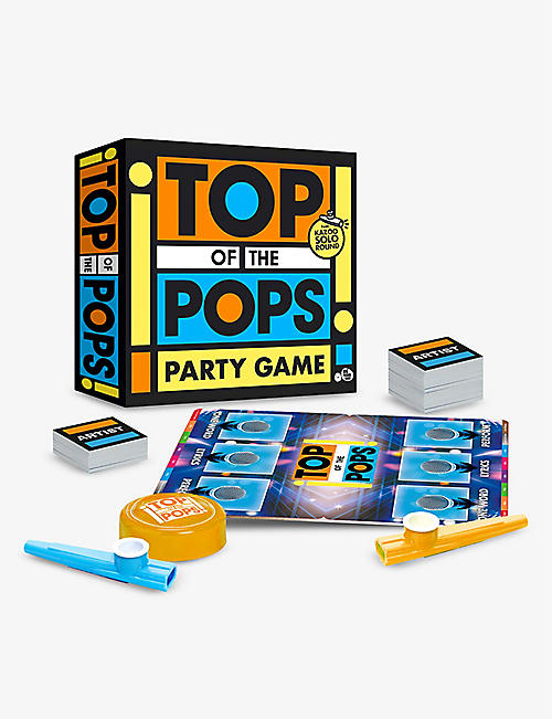 BIG POTATO GAMES: Top Of The Pops board game