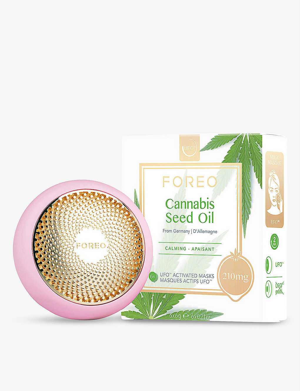 FOREO: Cannabis Seed Oil mask 6 x 6g