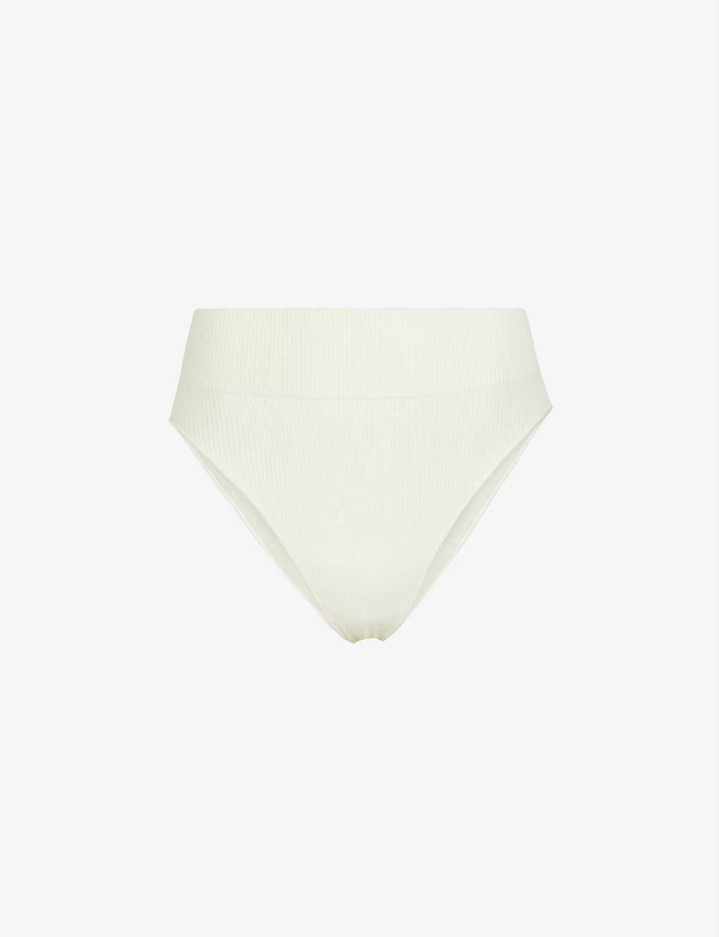 SKIMS: Ribbed stretch-woven briefs