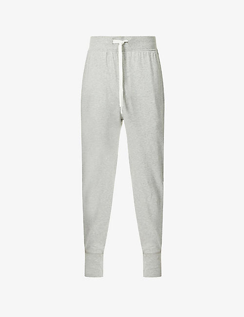 POLO RALPH LAUREN: Slim-fit cotton-jersey jogging bottoms