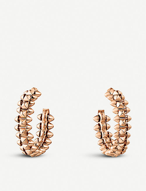 CARTIER: Clash de Cartier 18ct rose-gold earrings