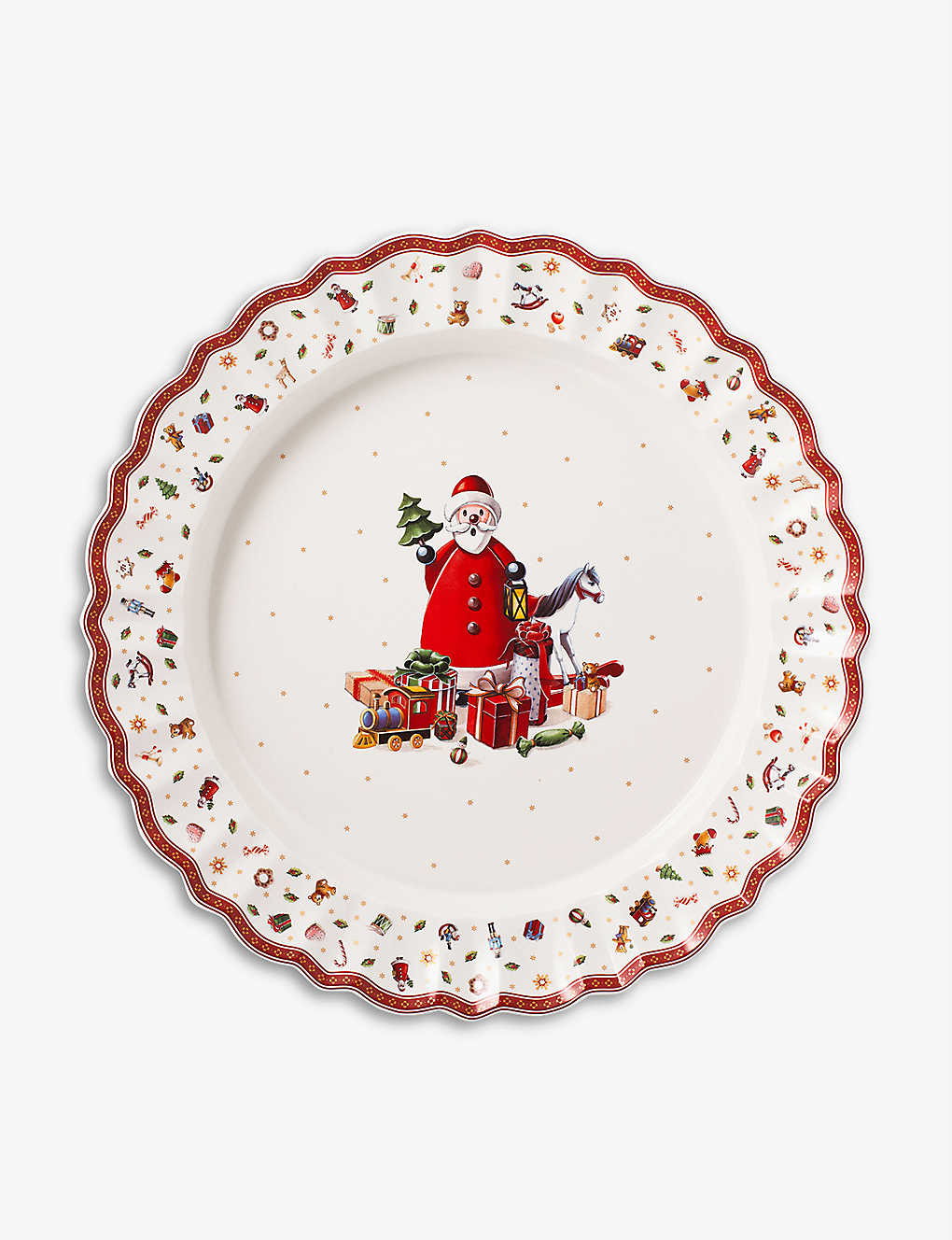 VILLEROY & BOCH: Toy's Delight porcelain serving platter 43cm