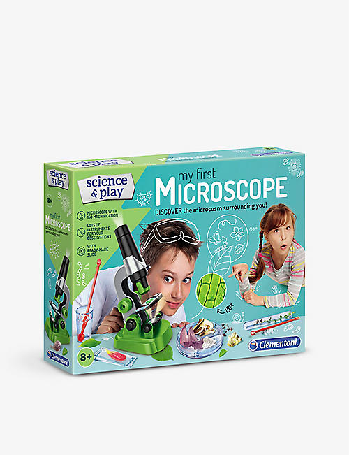 SCIENCE & PLAY: My First Microscope kit