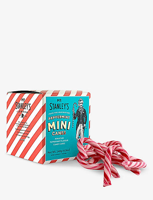 MR STANLEY'S: Mini Candy Canes 140g