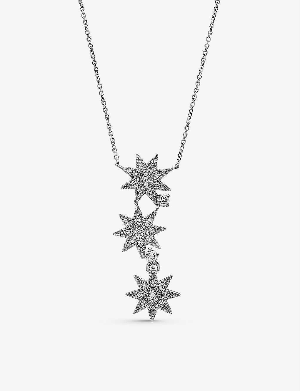 THE ALKEMISTRY: Colette Galaxia 18ct white-gold and diamond necklace