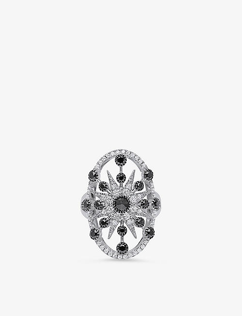 THE ALKEMISTRY: Colette Galaxia Serena 18ct white-gold and diamond ring