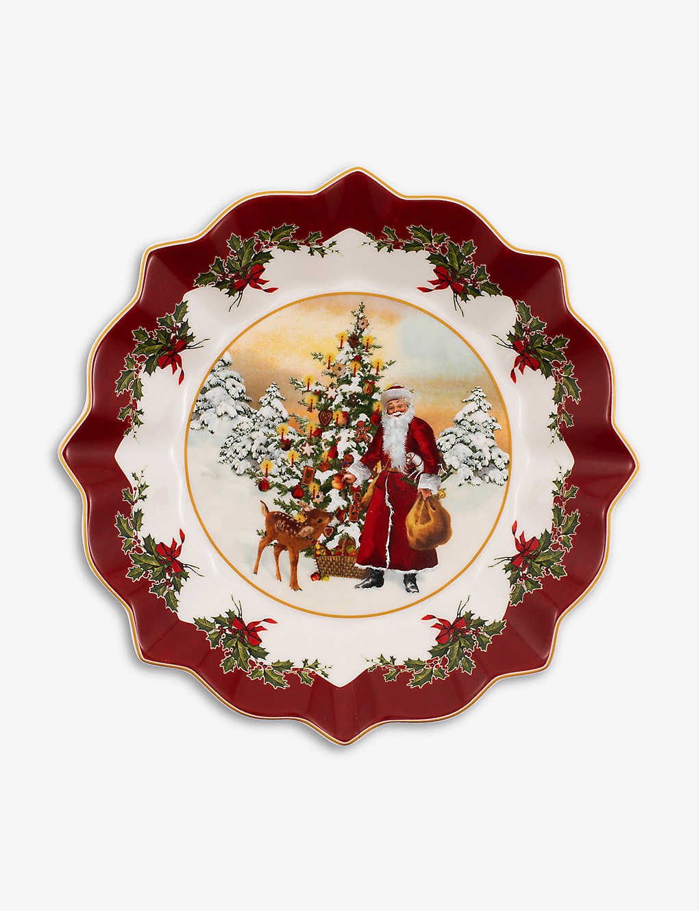 VILLEROY & BOCH: Toy's Delight Santa large bowl 24.5cm
