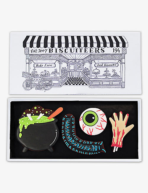 BISCUITEERS: Witches Potion chocolate letterbox biscuits 60g