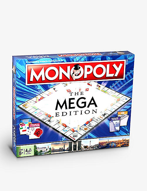 WINNING MOVES:Mega Monopoly 棋盘游戏