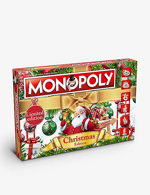 WINNING MOVES: Monopoly Christmas board game