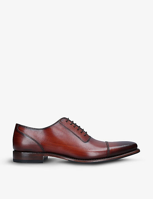 LOAKE:Larch 皮革牛津鞋