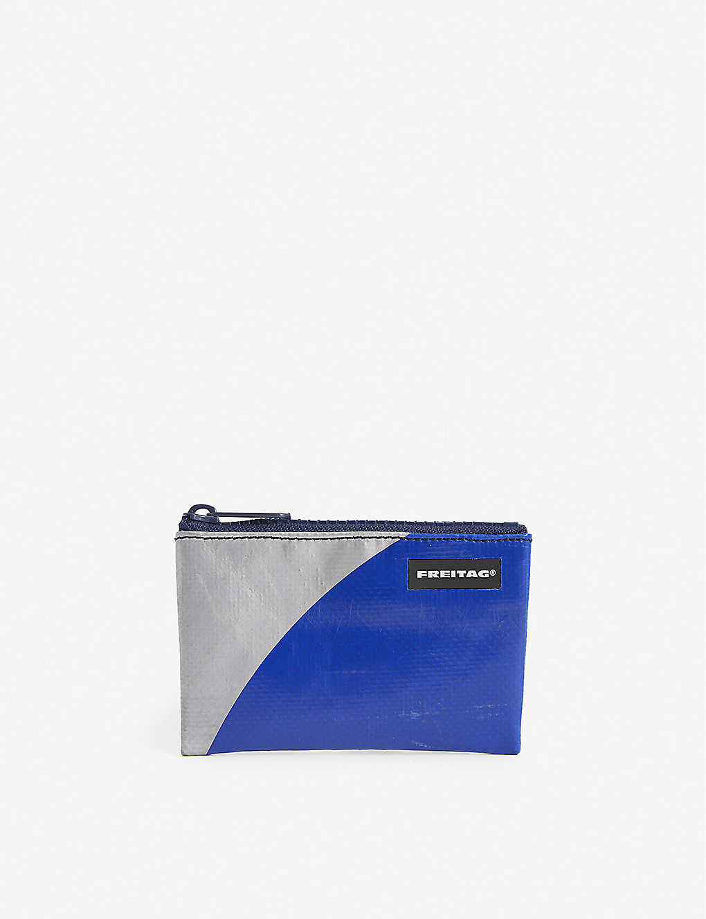 FREITAG: Blair extra-small recycled-tarpaulin pouch