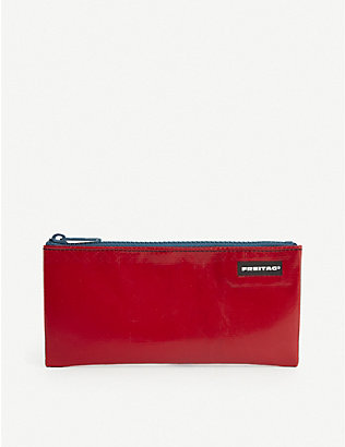 FREITAG: Serena small recycled-tarpaulin pouch