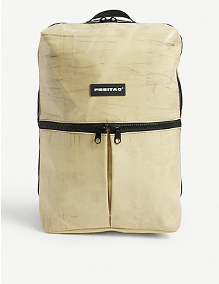 FREITAG: Fringe recycled-woven backpack