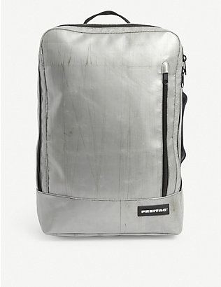 FREITAG: Hazzard recycled tarpaulin backpack