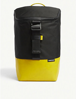 FREITAG: Carter recycled tarpaulin backpack