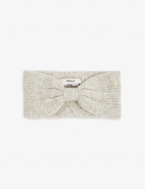 SESSUN: Elk puff-stitched wool-blend headband