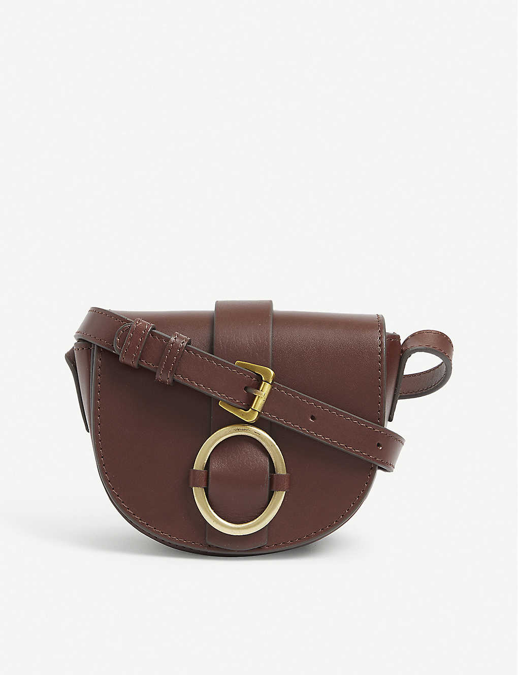 SESSUN: Tessao small leather cross-body bag