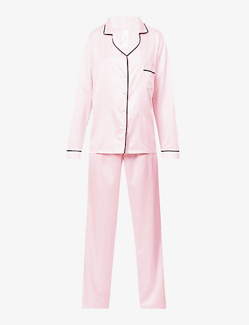 BLUEBELLA: Abigail satin pyjama set