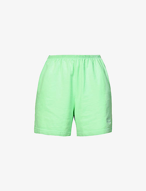 LIVINCOOL: Essential relaxed-fit cotton-jersey shorts