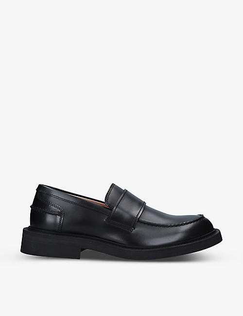 BOTTEGA VENETA: Level leather loafers