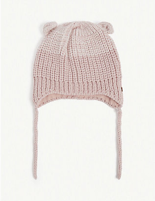 BARTS AL: Natsy knitted beanie hat 3-12 months