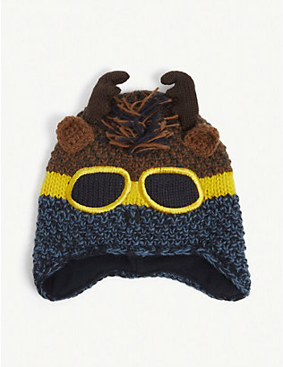 BARTS AL: Omac knitted beanie hat 4-6 years