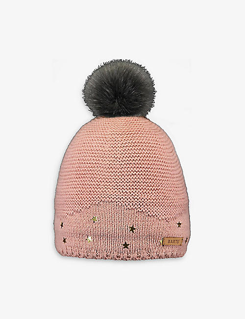 BARTS AL: Nerida knitted beanie hat 1.5-8 years