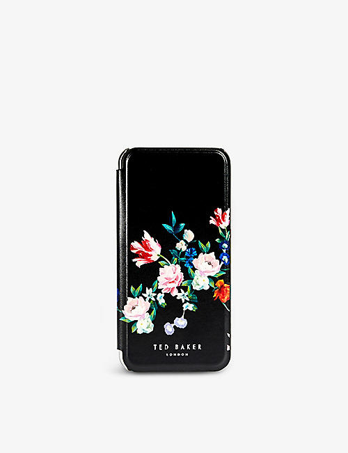 TED BAKER: SANDALWOOD IPHONE X XS MIRROR CASE