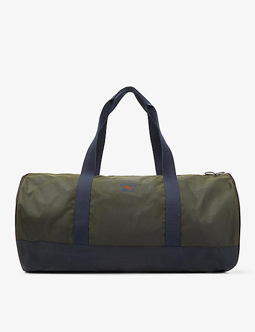 BARBOUR: Barbour x Noah waxed cotton holdall bag