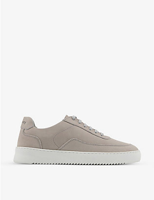 FILLING PIECES: Mondo 2.0 Ripple low-top leather trainers