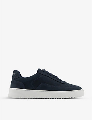 FILLING PIECES: Mondo 2.0 leather low-top trainers